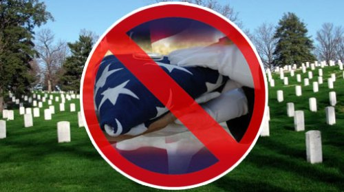 Flag Ceremony Banned