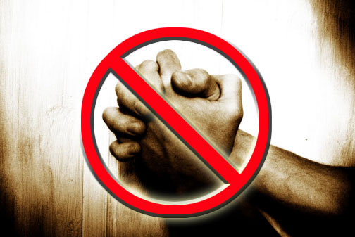 banning prayer from schools Start studying ch 2: religion and public schools learn vocabulary, terms, and more with bans prayer in public schools prayer was religious in nature and violated the establishment clause of the us supreme court banned prayer in any form in all school activities across the.