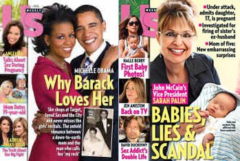 US Magazine showcases the absolute bias that exists in the media