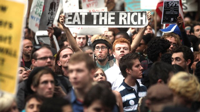 occupy wallstreet We are the 99%the occupy wall street movement named the core issue of our time: the overwhelming power of wall street and large corporations— something the political establishment and most media have long ignoredbut the movement goes far.