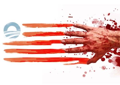 ObamaFlag_ofBlood