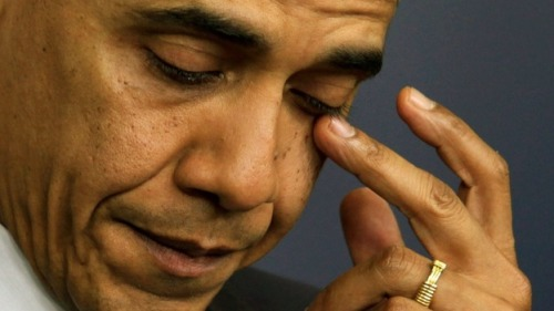 Obama's crocodile tears