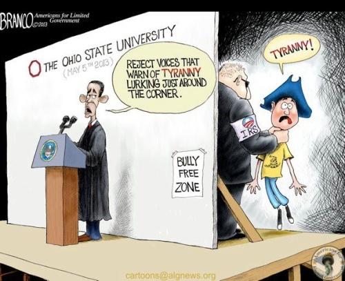 Obama IRS Cartoon