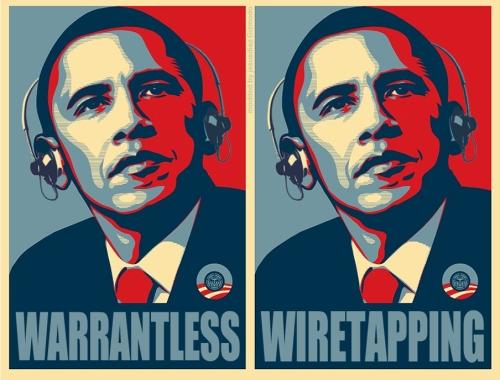 wiretapping obama