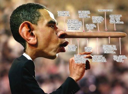 Pinocchio-Obama