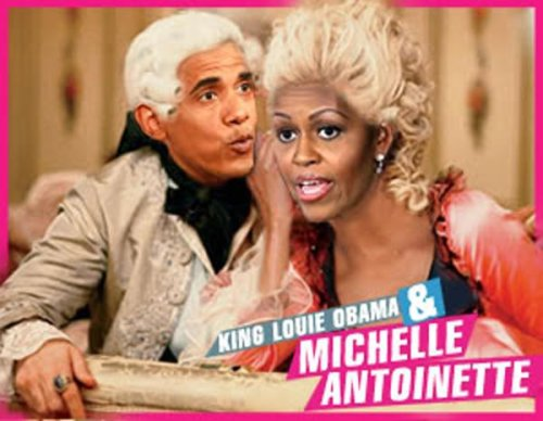 king & queen Obama