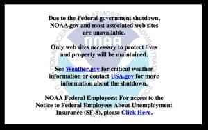 NOAA Closed
