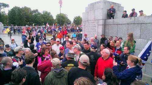 Palin WWII Memorial