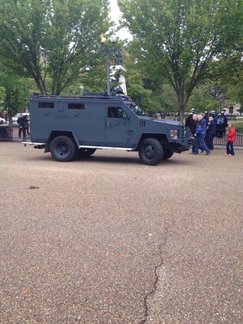 Riot Truck  at memorial