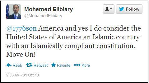 Mohamed Elibiary Tweet1