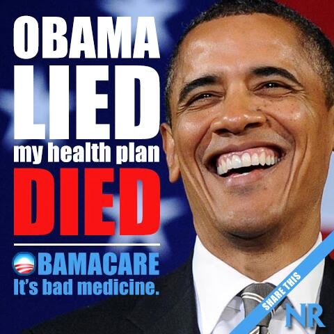 Obama Lied Healthcaere Died