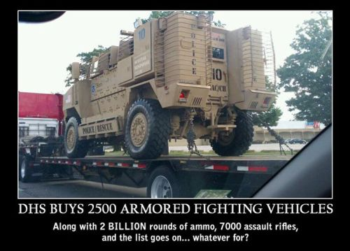 DHS ArmingFor War