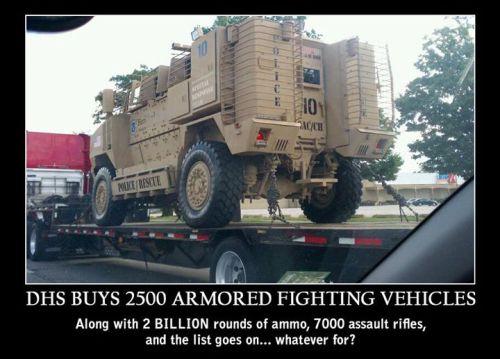 DHS ArmingFor War