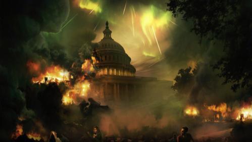 Burning Capitol