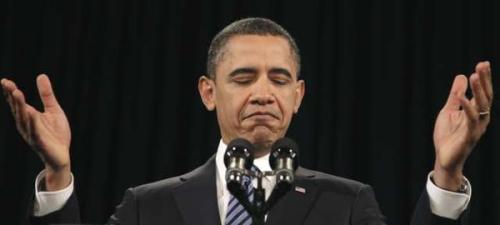 Obama Jesus Pose