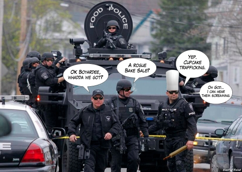 AG Deptfood-police