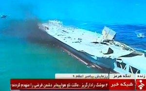 Iransinksaircraft-carrier